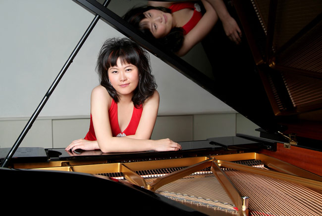 Pianist Ang Li will perform a free concert on Thursday, April 12, in the J. Carroll McCormick Campus Ministry Center at King's College