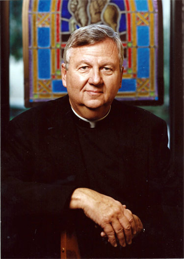 Father James Lackenmier, C.S.C.