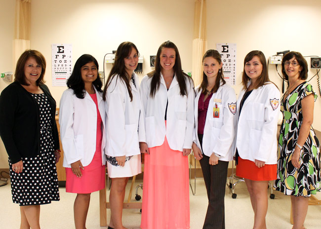 Five King's Physician Assistant Students Receive