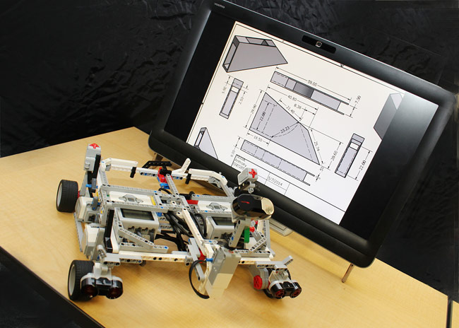 A requirement of team design project required of all students completing the first year of King's College's dual engineering degree program with the University of Notre Dame was to apply concepts learned through the first year of the program and design an electromechanical control system that utilized computer software and a variety of sensors.  One of the devices designed by a team of King's College first-year students was a personal valet.  The device was designed to follow its owner through use of infrared technology.  The system is also controlled via ultrasonic and touch sensors.