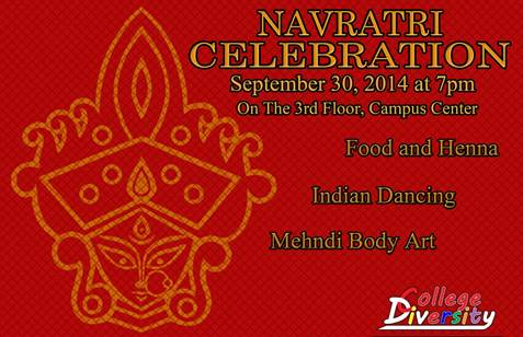 Navratri Indian Celebration