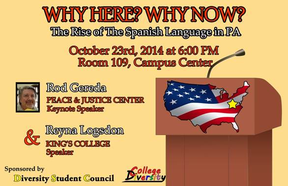 Diversity Event: The Rise of the Spanish Language