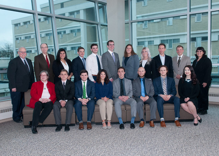 Seventeen King's Students Inducted into Beta Gamma Sigma Honor Society