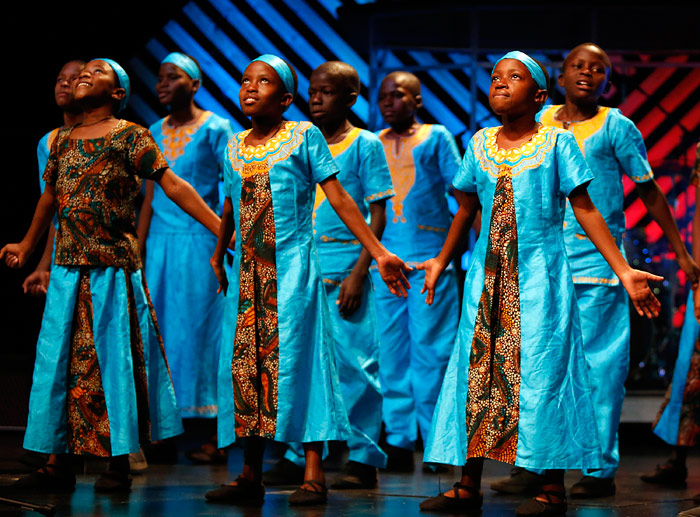 Daraja Children's Choir of Africa will perform a free public concert of song and  dance at 7 p.m. on Tuesday, Nov. 15, at King's College.