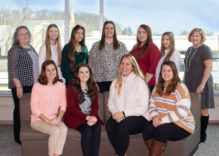 Nine King's College Education Studies Students Interning with Local Daycare Facilities