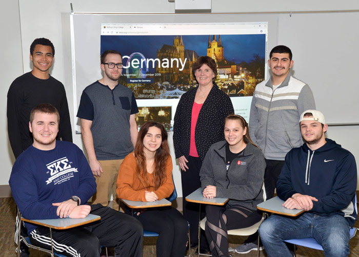 King's Delegation Participates in Model United Nations Event in Germany; Two Students Earn Award for Best Position Paper