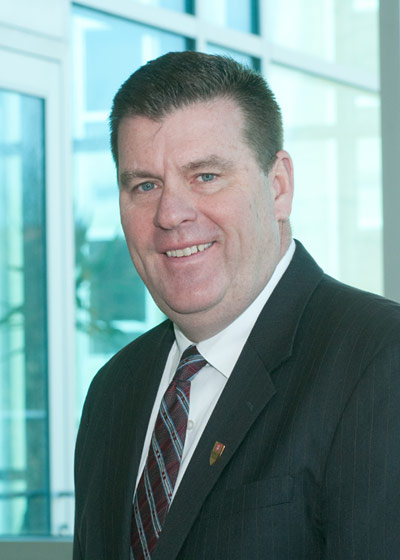 James Gilgallon, executive director of campus safety and security at King's College