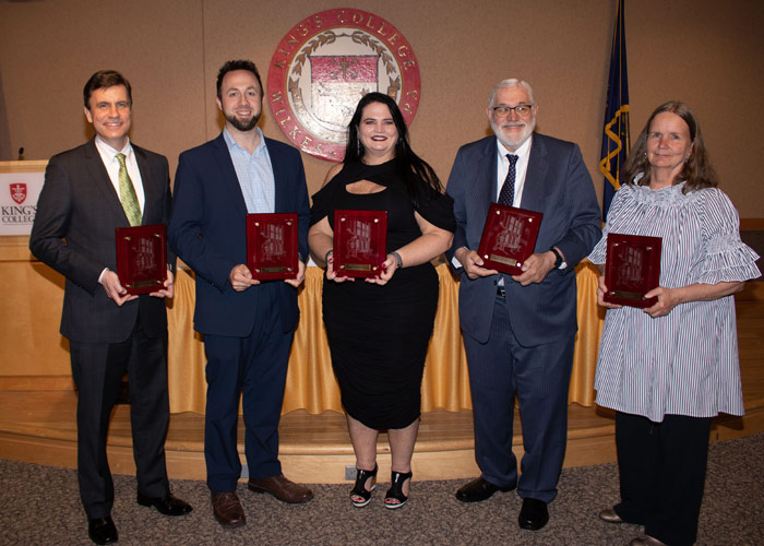 King's College 2019 Alumni Award Winners Honored