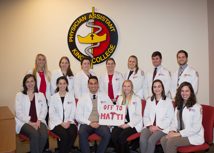 King's Physician Assistant Students to Participate in Medical Mission Trips to Haiti