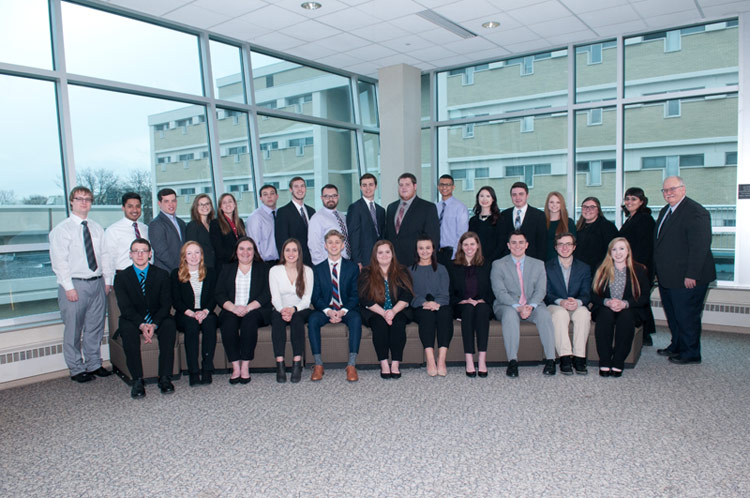 Thirty-Five King's Students Inducted into Accounting Honor Society