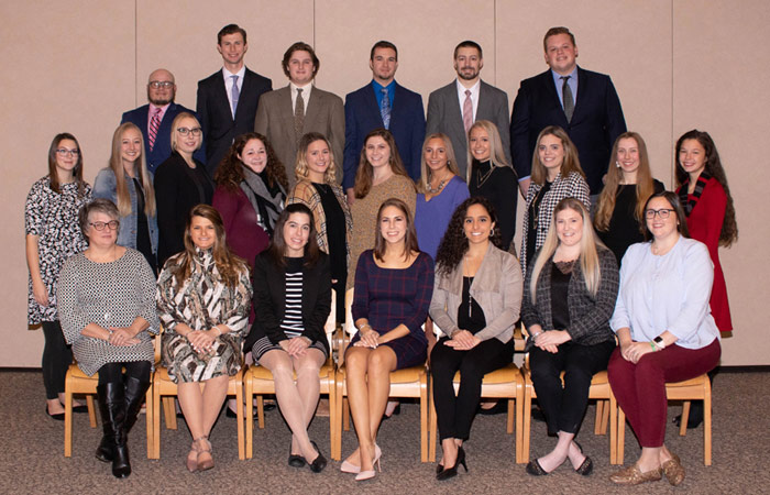 King's Students Inducted to National Education Honor Society