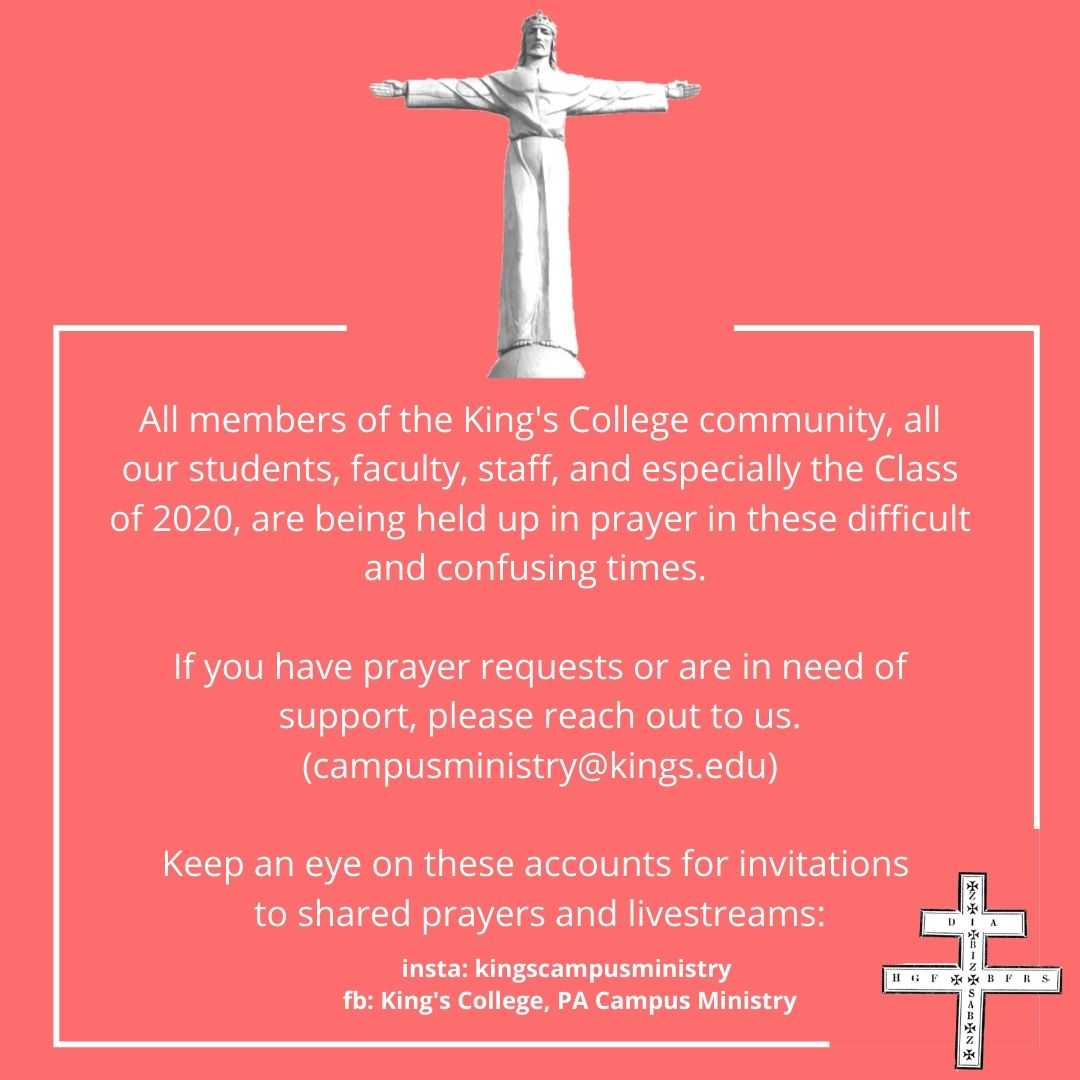 Message from Camus Ministry