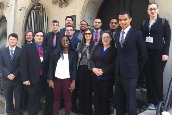 King's College Students Participate in Model United Nations in NYC
