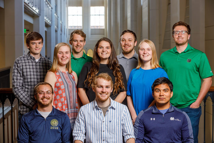 10 Students in Second Class to Complete 3 + 2 Engineering Program with University of Notre Dame