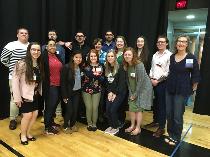 Eleven King's Science Majors Present at PA Academy of Science