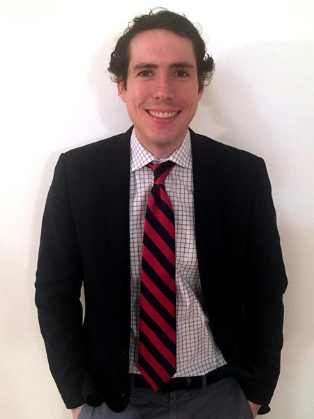 """Wall Street Journal"" reporter Peter Rudegeair"