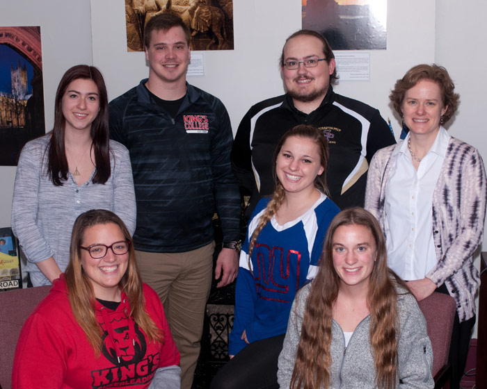 8 King's students studying or interning abroad during the summer/ fall semesters