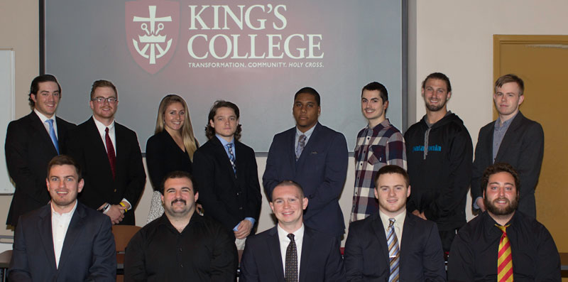 27 King's students participating in  summer academic internship program