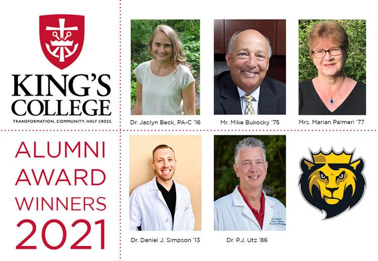 2021 King's College Alumni Award Winners Celebrated in Virtual Ceremony