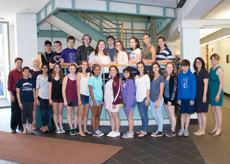 24 Students Attend Aspiring Writers Camp at King's College