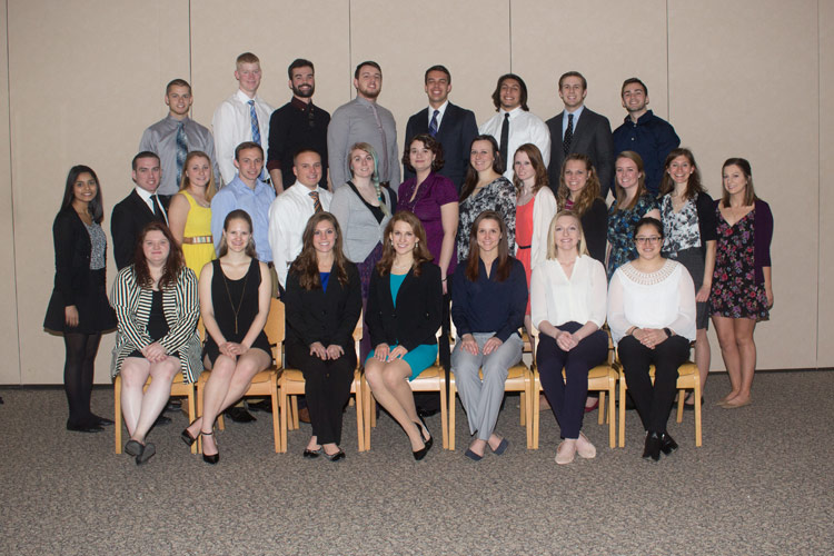 King's Students Inducted to National Catholic College Honor Society