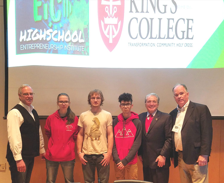 Inaugural Entrepreneurship Institute Held at King's College