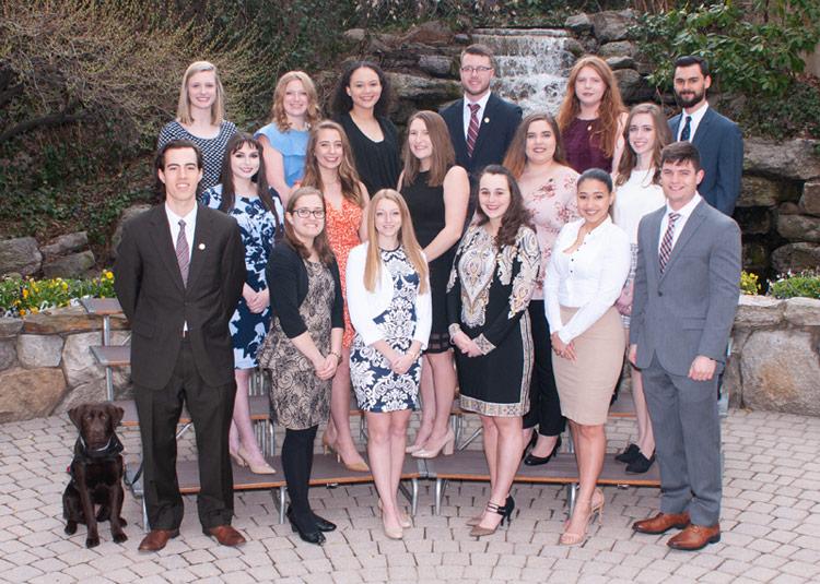 24 students inducted into Aquinas Society, King's Honor Society