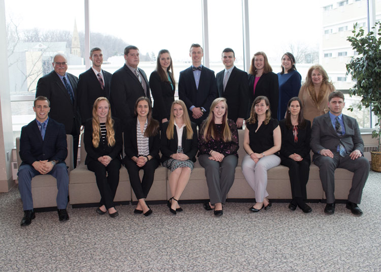 18 students inducted into Beta Gamma Sigma,  AACSB International business honor society
