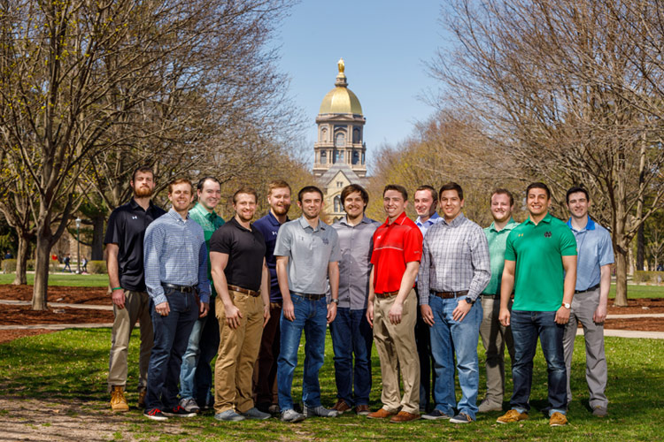 13 Students First to Complete 3 + 2 Engineering Program with University of Notre Dame