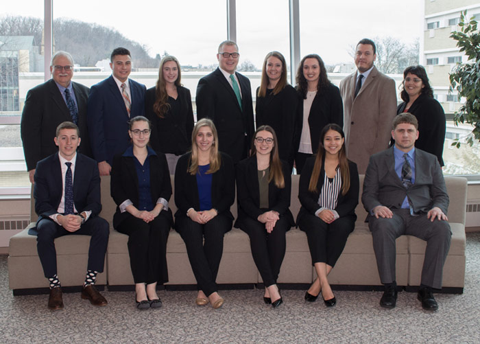 25 King's students inducted into IMA, Accounting Honor Society