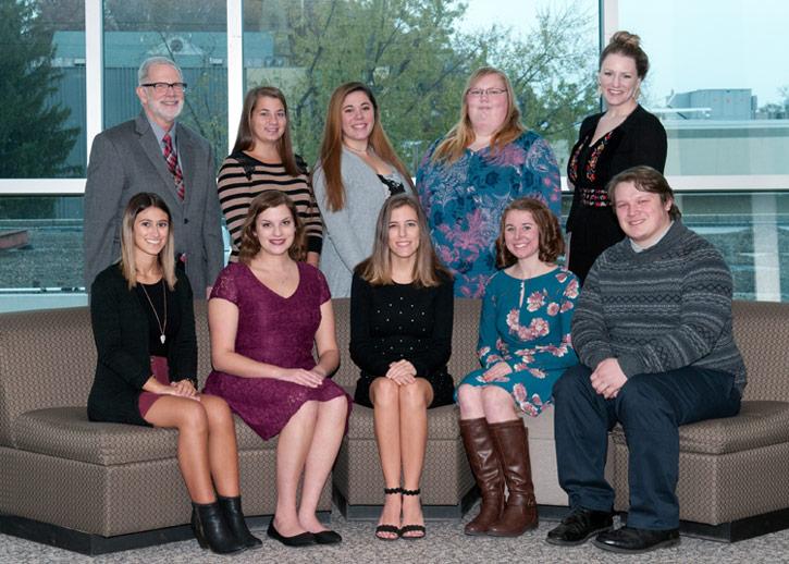 Nine Students Inducted To Kappa Delta Pi Education Honors Society