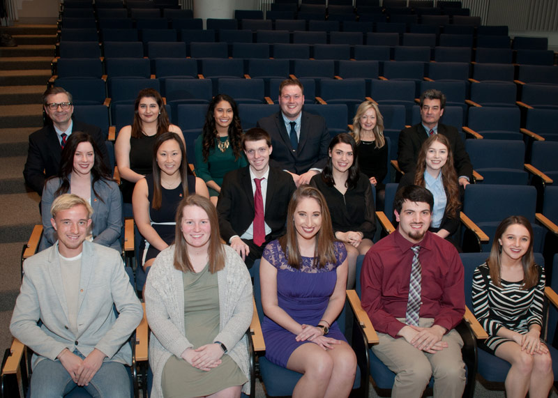 Students Inducted to King's Chapter of National Honor Society for Communications