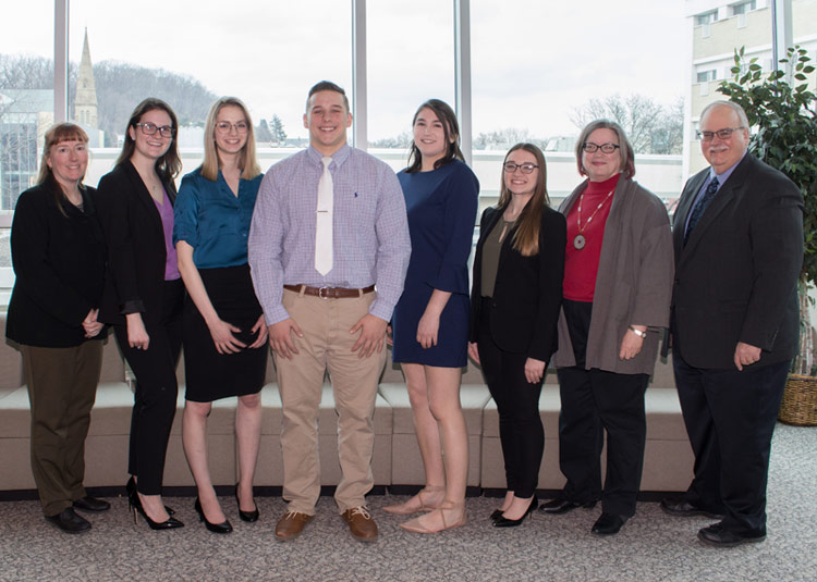 13 King's students inducted into Mu Kappa Tau, National marketing honor society