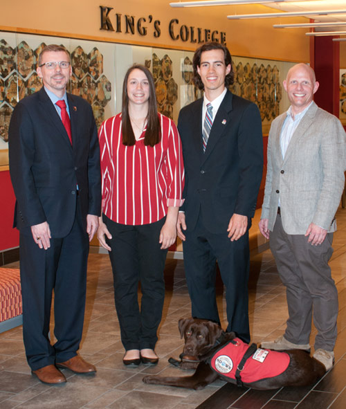 King's AT students DeTore and Logoyda to receive PATS student scholarships
