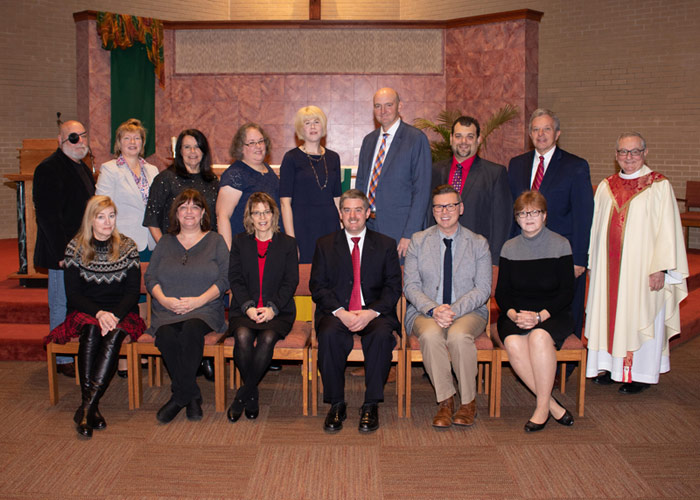 Sixteen King's College Employees Receive Christi Regis Award Recognizing 20 Years of Service