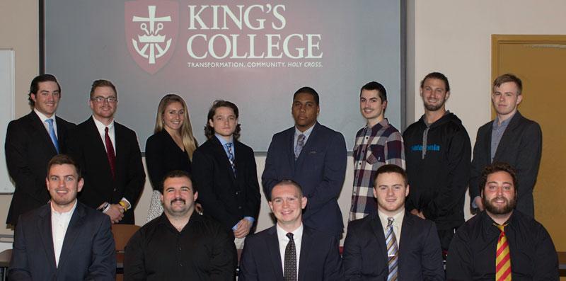27 King's students participating in  summer academic internship program