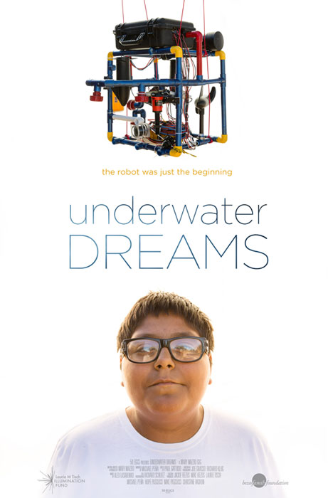 """Undocumented high school students enter a robotics competition, facing off against engineering powerhouses like MIT, and won the competition in the documentary """"Underwater Dreams,"""" one of two free public film screenings held during the Seventh Annual"""
