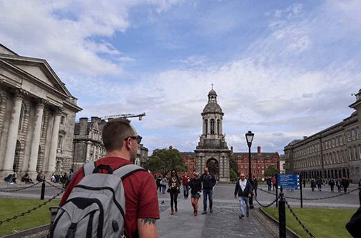 Denis experiences architecture in Dublin, Ireland.